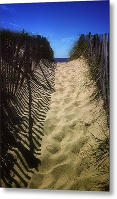 Old Cape Cod Metal Print by Carol Kinkead
