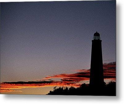 Old Cape Henry Sunrise Metal Print by Skip Willits