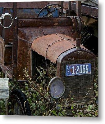 Old Car Metal Print by Anthony Jones