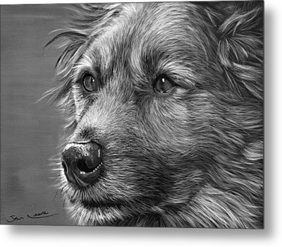 Old Charlie Metal Print