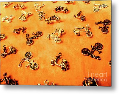 Old Charm Scooters Metal Print by Jorgo Photography - Wall Art Gallery