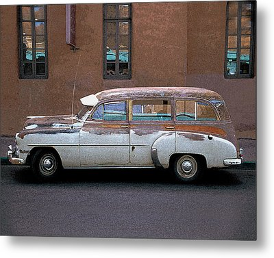 Old Chevy Metal Print by Jim Mathis
