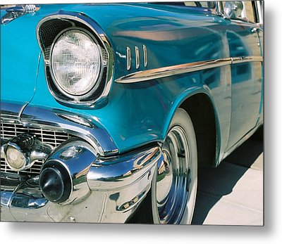 Metal Print featuring the photograph Old Chevy by Steve Karol