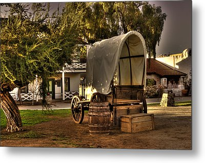 Old Chuck Wagon Metal Print