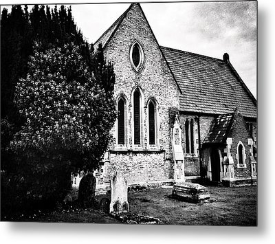 Old Church Metal Print by Andrew Hunter