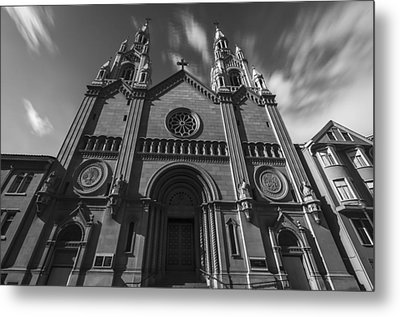 Old Church Metal Print by Phil Fitzgerald