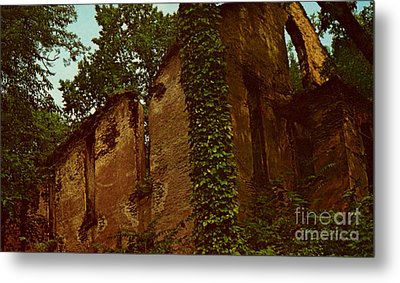 Old Church Ruins  Metal Print by Ruth  Housley