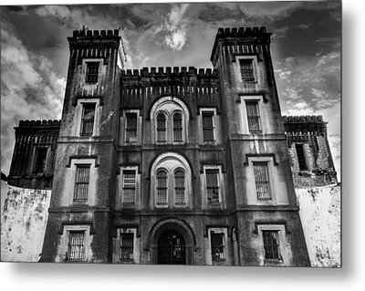 Old City Jail Metal Print