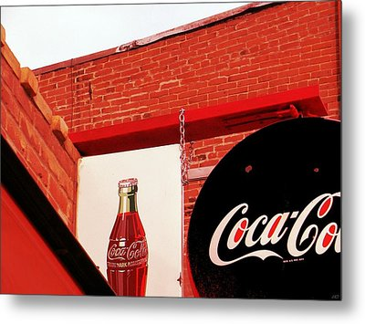 Old Coke Metal Print
