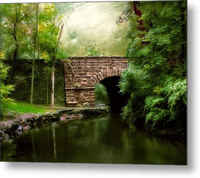 Old Country Bridge Metal Print by Jessica Jenney