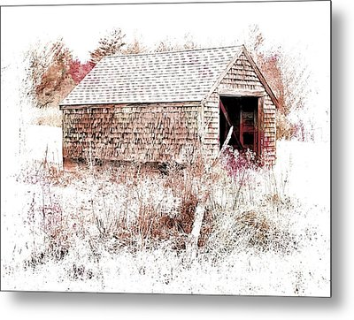Old Country Building Metal Print