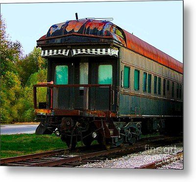 Old Dining Car Metal Print