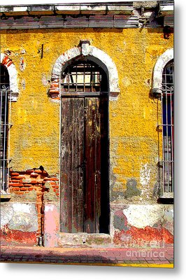 Old Door 2 By Darian Day Metal Print by Mexicolors Art Photography