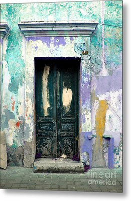 Old Door 4 By Darian Day Metal Print by Mexicolors Art Photography