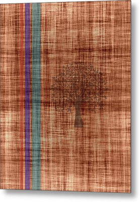 Old Fabric Metal Print