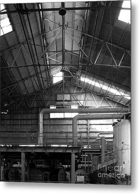 Old Factory Metal Print by Yali Shi