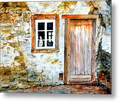 Old Farm House Metal Print by Sher Nasser