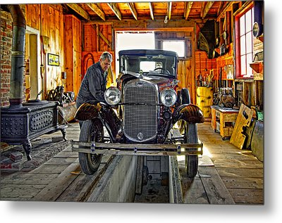 Old Fashioned Tlc Metal Print by Steve Harrington