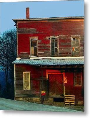 Old Feed Mill In The Afternoon Metal Print by Julie Dant