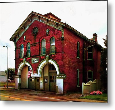 Old Firehouse No. 10 Metal Print