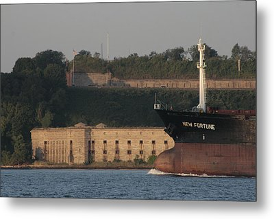 Old Fort New Fortune Metal Print
