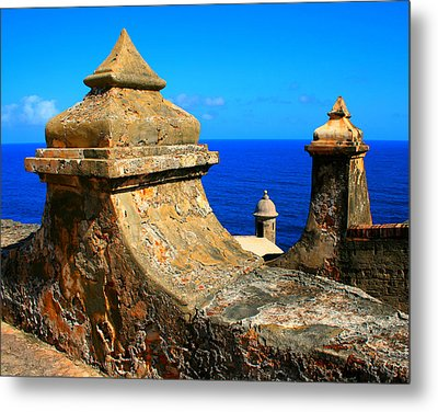 Old Fort Puerto Rico Metal Print by Perry Webster