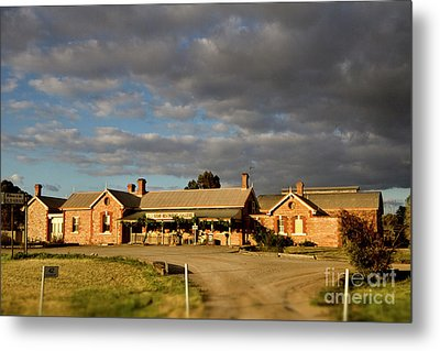 Metal Print featuring the photograph Old Ghan Railway Restaurant by Douglas Barnard