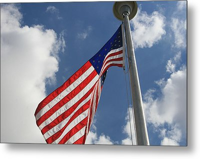 Old Glory 1 Metal Print by Bob Gardner