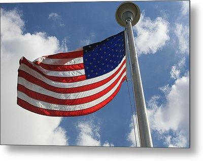 Old Glory 2 Metal Print by Bob Gardner