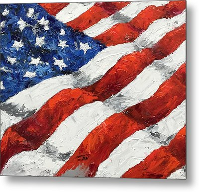 Old Glory II Metal Print