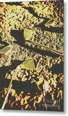 Old Golfing Games Metal Print by Jorgo Photography - Wall Art Gallery