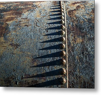 Metal Print featuring the photograph Old Grunge by Mary Hone