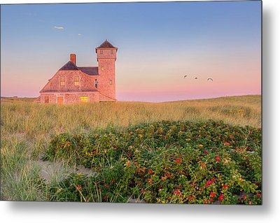 Old Harbor Life-saving Station Cape Cod Metal Print by Bill Wakeley