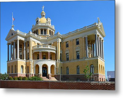 Old Harrison County Courthouse Metal Print