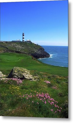 Old Head Of Kinsale Lighthouse Metal Print by The Irish Image Collection
