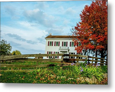 Old Home Federal Style Metal Print