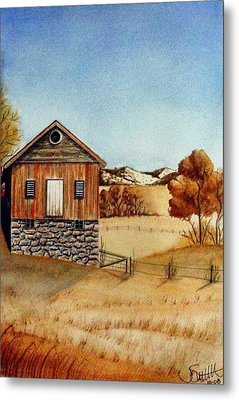 Old Homestead Metal Print by Jimmy Smith