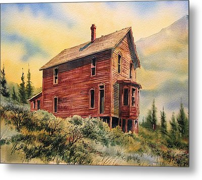 Old House Animas Forks Colorado Metal Print by Kevin Heaney