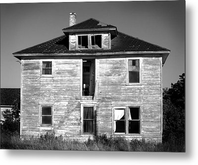 Old House On Stagecoach Road Metal Print by Stephen Mack