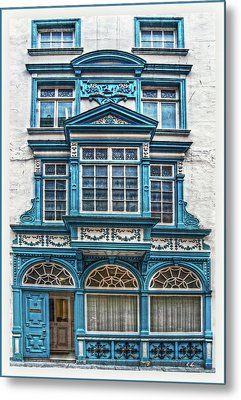 Old Irish Architecture Metal Print