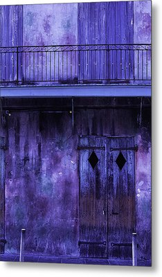 Old Jazz Club Metal Print