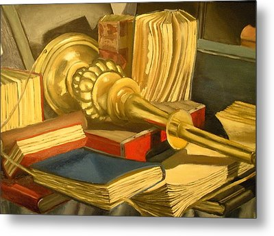 Old Knowledge Metal Print by Jaylynn Johnson