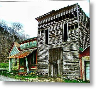 Old Leavenworth Indiana Ghost Town II Metal Print by Julie Dant