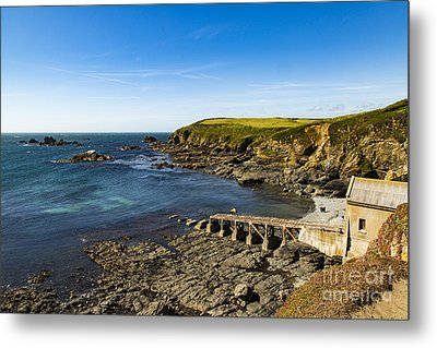 Metal Print featuring the photograph Old Life Boat Station by Brian Roscorla