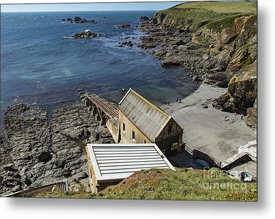 Metal Print featuring the photograph Old Lifeboat Station by Brian Roscorla