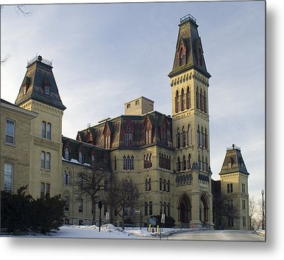 Metal Print featuring the photograph Old Main At Woods Wisconsin by Peter Skiba