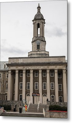 Old Main Penn State From Front  Metal Print by John McGraw