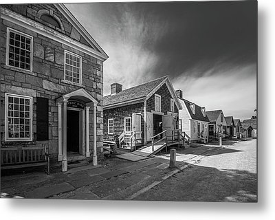 Metal Print featuring the photograph Old Main Street by Steven Ainsworth