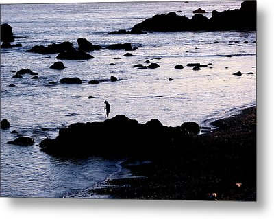 Metal Print featuring the photograph Old Man And The Sea by Jan Cipolla