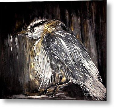 Old Man Bird Metal Print